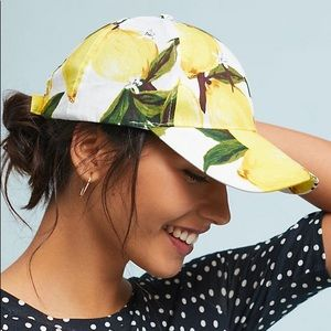 Anthropologie lemon hat